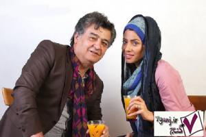 رضا رويگري و همسرش تارا كريمي
