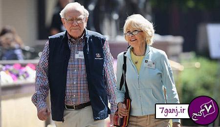 وارن بوفِت و استرید مینکس/ثروتمندترين زوج هاي جهان