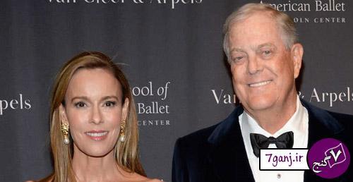 دیوید و جولیا کاش / ثروتمندترين زوجهاي جهان