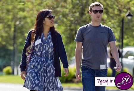 مارک زاکربرگ و پرسیلا چان/ جوان ترين زوج ثروتمند جهان