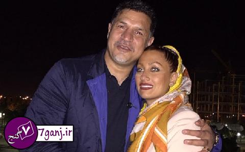علي دايي و همسرش