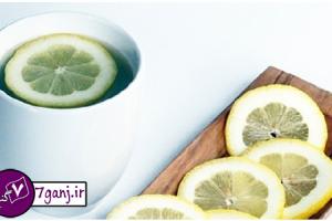 ليمو ترش و آب گرم