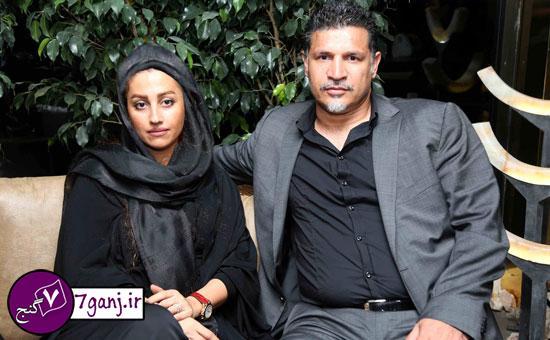 علي دايي و همسر دومش