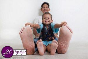 بزرگترین پاهای دنیا