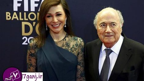 لیندا باراس، همسر ایرانی سپ بلاتر