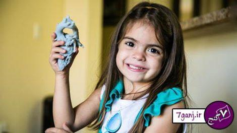 نجات جان کودک سه ساله با کمک چاپگر سهبعدی