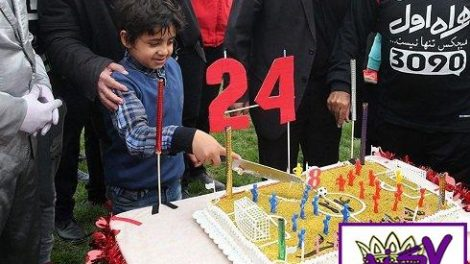 تولد پسر هادی نوروزی