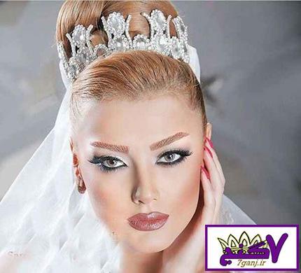 آرایش عروس جدید