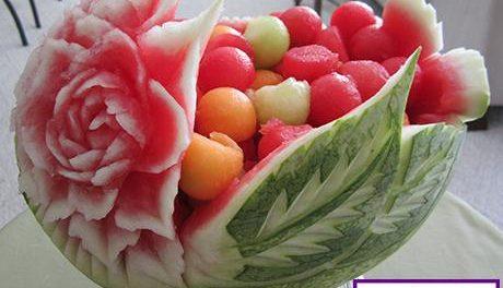 تزیین هندوانه جدید و زیبا
