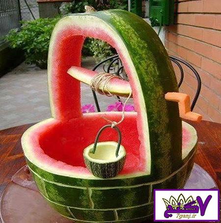 تزیین هندوانه جدید