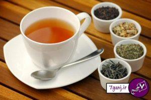 فوايد انواع چاي