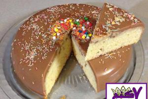 کیک با رویه ژله
