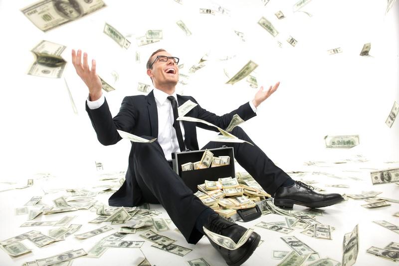 عکس مرد پولدار