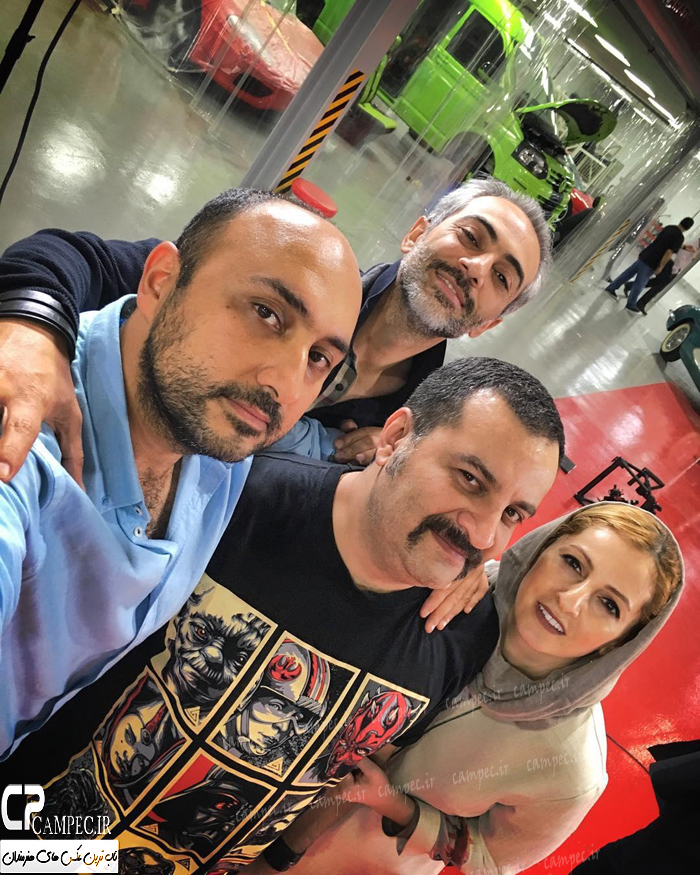 عکس جدید بازیگران با همسرانشان