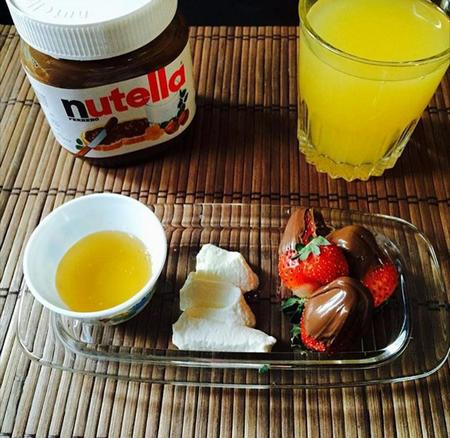 تزیین صبحانه
