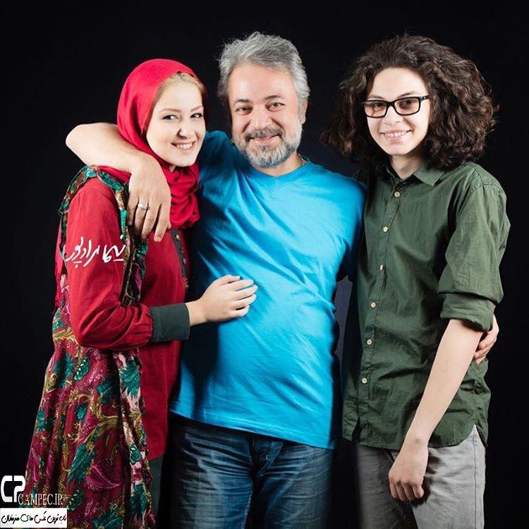 عکس جدید بازیگران با فرزندانشان