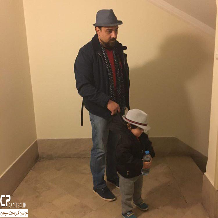 برزو ارجمند و پسرش