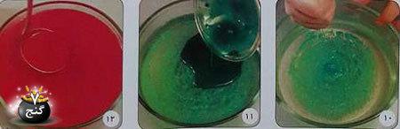 ژله از نوع سبزه سفره هفت سین