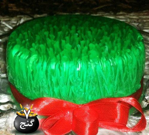 ژله سبزه