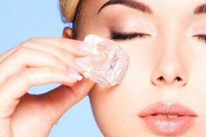 جوان سازی پوست خود را با یخ درمانی از سر بگیرید