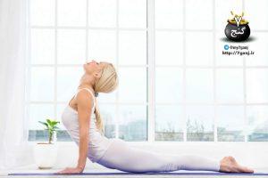 8 حرکت یوگا برای قسمت های فوقانی پشت