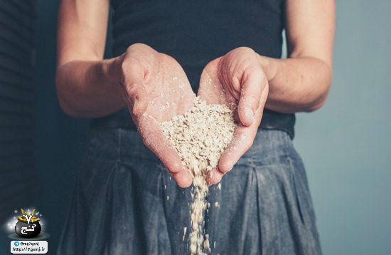 خواص و ارزش درمانی و تغذیه ای جو دو سر