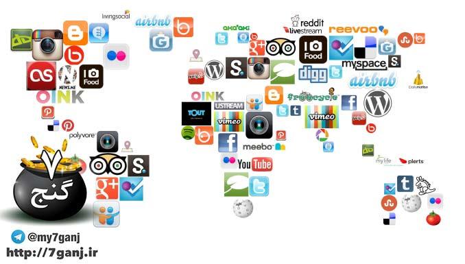 سایت های اجتماعی