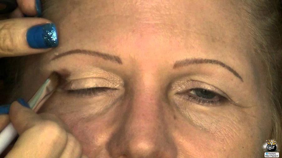 آموزش آرایش چشم و سایه چشم