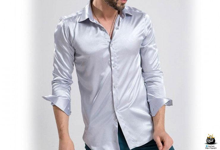 استایل مردانه پیراهن های براق