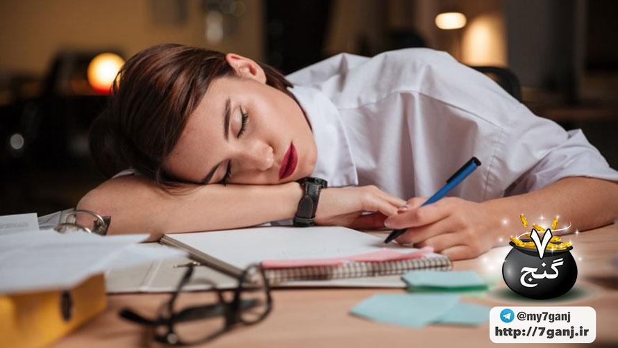 خستگی و علائم افسردگی