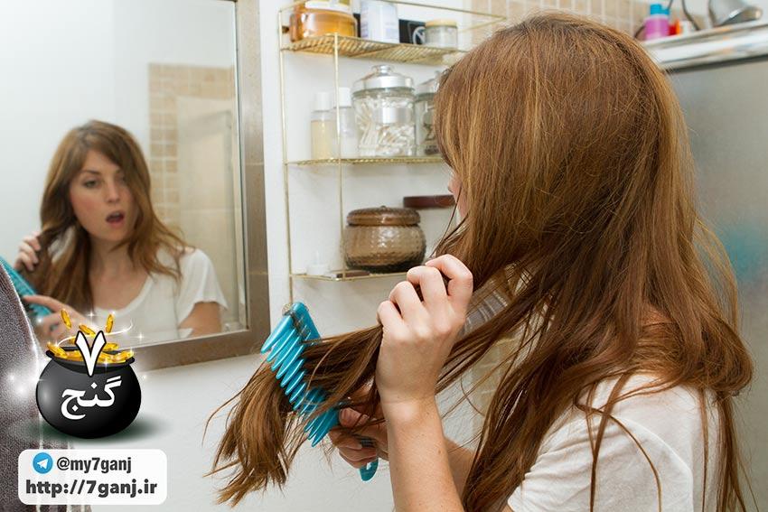 شستن مو و شانه کردن صحیح مو