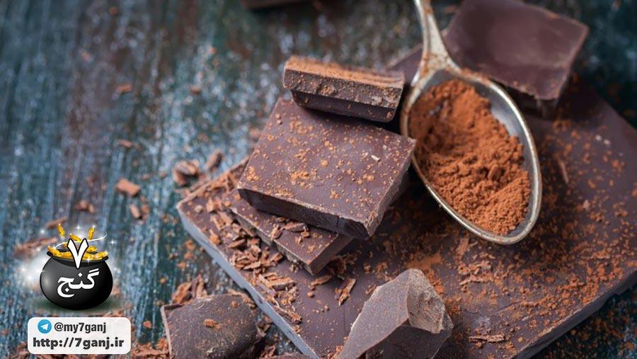 شکلات تلخ و مقابله با بی خوابی