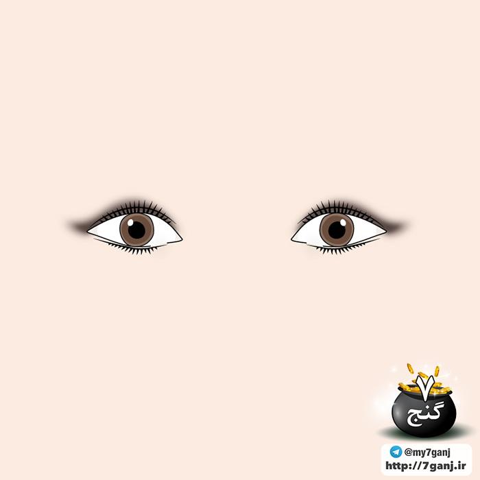 آرایش چشم گربه ای برای چشم های ریز