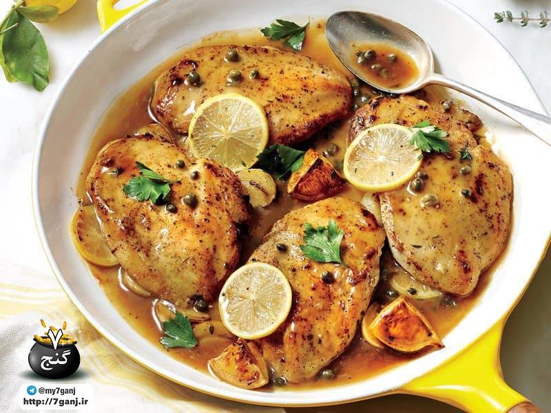 سینه مرغ پخته شده
