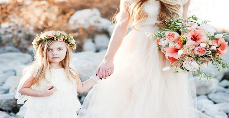 لباس بچه و مادر