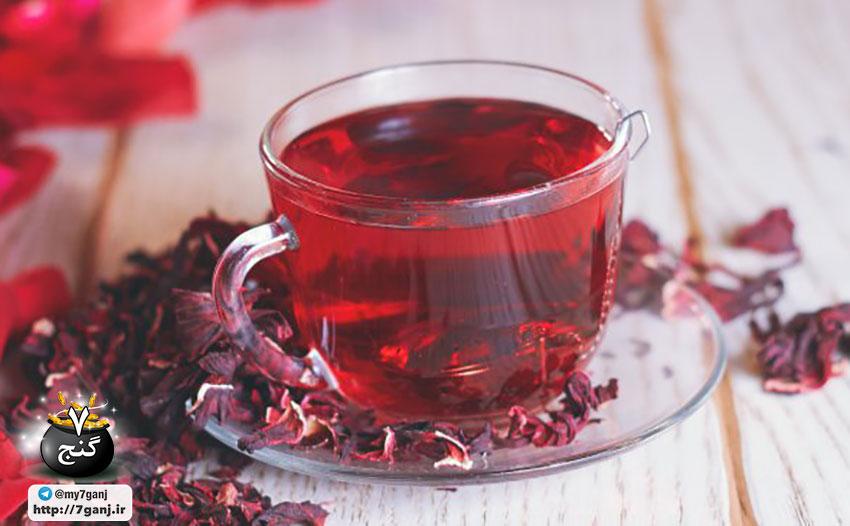 مزایای شگفت انگیز چای هیبیسکوس
