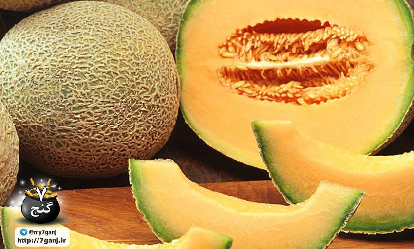 میوه طالبی یا گرمک