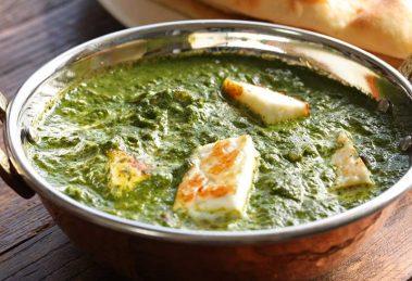 طرز تهیه پالاک پنیر هندی