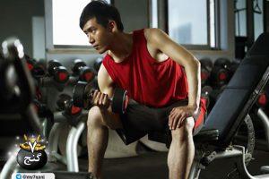 ساخت عضلات