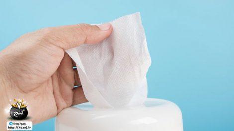 دستمال مرطوب