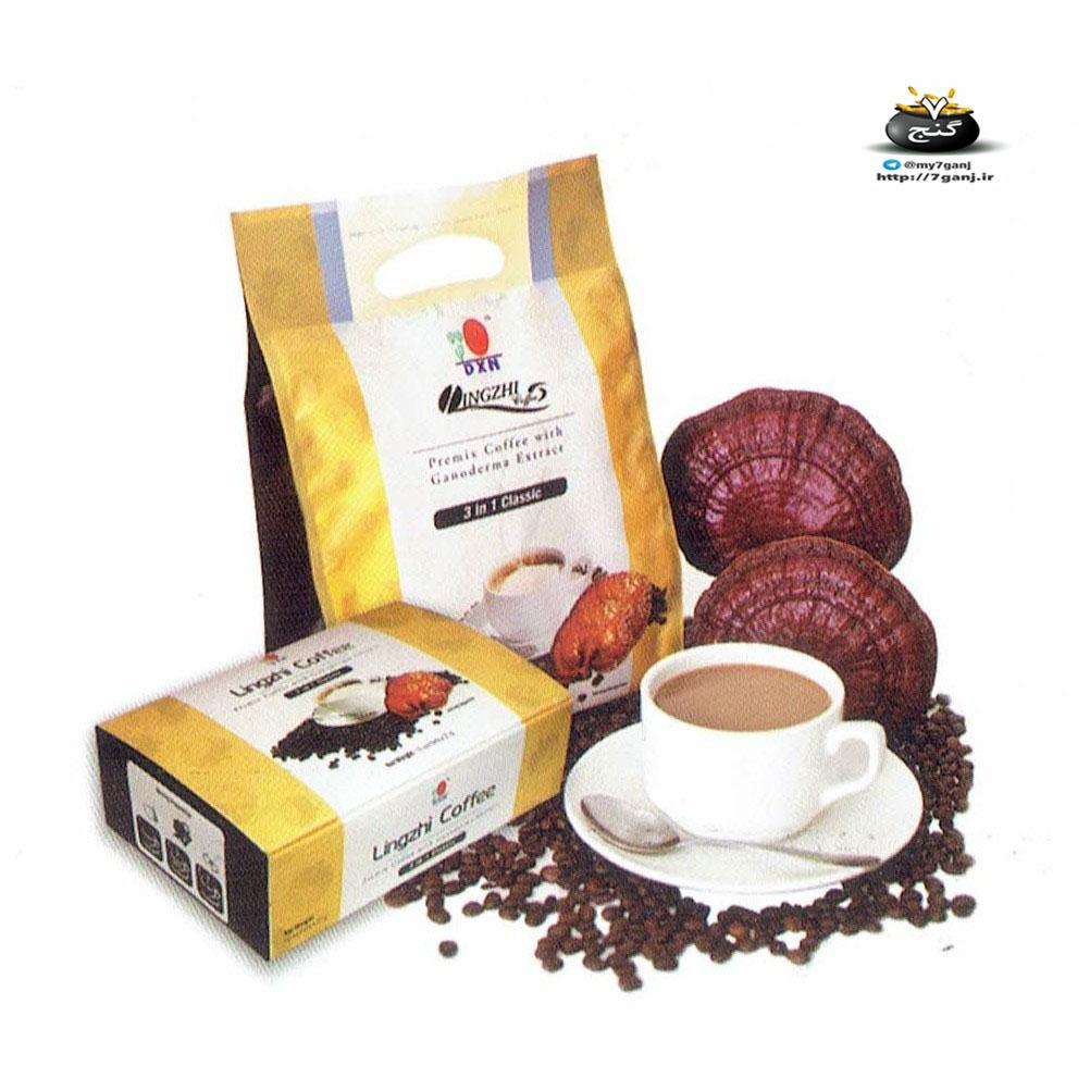 قهوه ی قارچ گانودرما