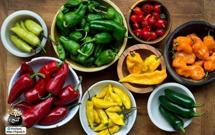 مواد غذایی مناسب برای کاهش وزن