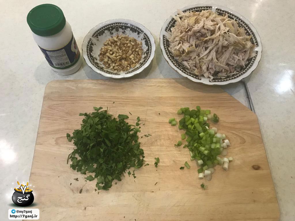 طرز تهیه سالاد مرغ