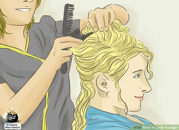 مدل دادن به مو