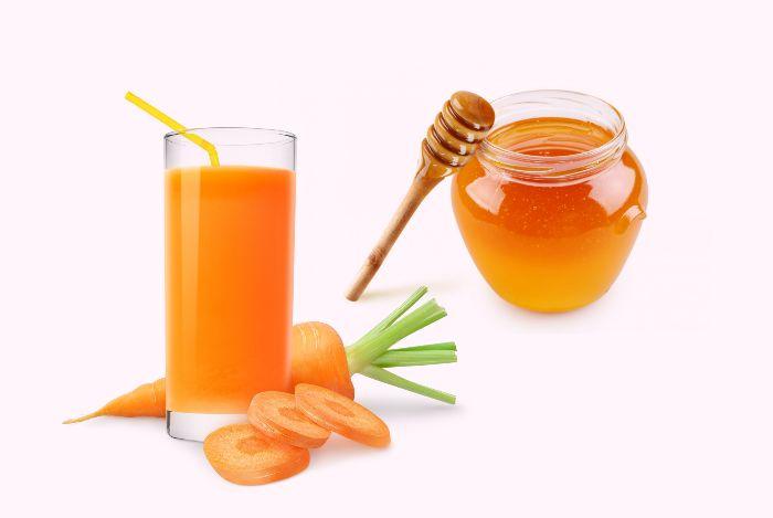 ماسک عسل و هویج