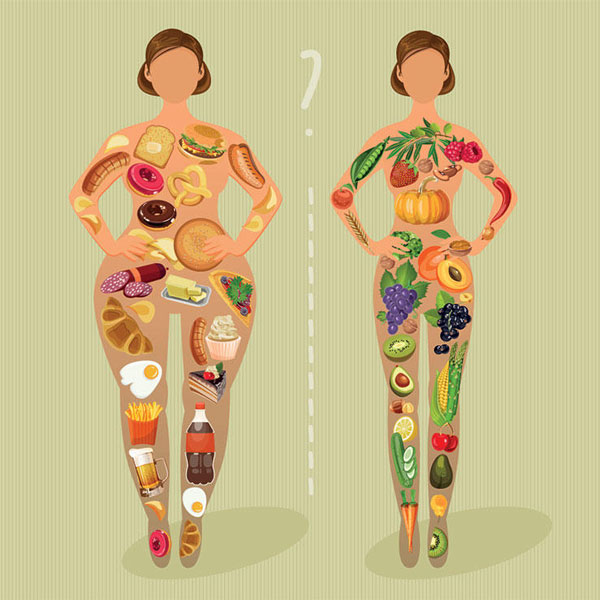 تاثیر مواد غذایی فیبر دار بر روی لاغری و کاهش وزن