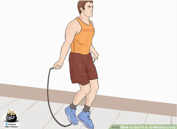 طناب زدن برای تناسب اندام