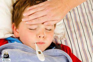 تب کودکان