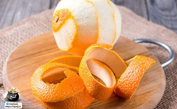 ماسک پودر پوست پرتقال