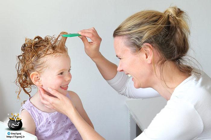 رشد موی کودکان